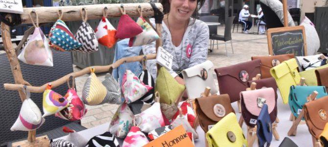 Le marché des créateurs d'Issoire